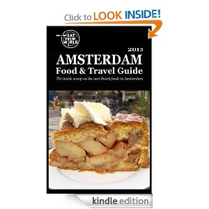 Amsterdam food and travel guide on Kindle, by Eat Your World