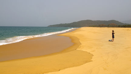 John Obey beach, Freetown Peninsula, Sierra Leone