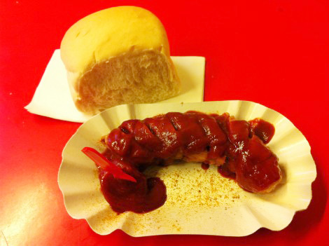 Currywurst in Berlin, local food