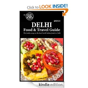 Delhi food and travel guide on Kindle