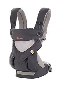 Ergobaby carrier 360, recommended for baby travel