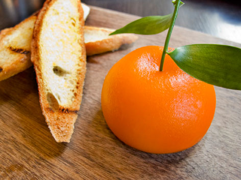 Meat fruit from Dinner by Heston Blumenthal, London