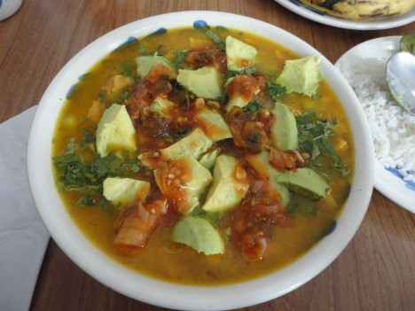 Mondongo, a traditional tripe soup from Colombia