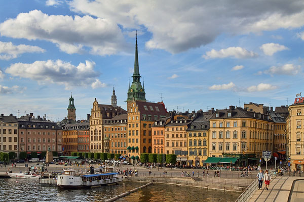 Stockholm, Sweden, view of buildings