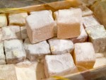 Lokum, or Turkish delight, from Istanbul, Turkey